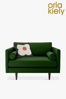 Orla Kiely Mimosa Snuggle Sofa with Walnut Feet