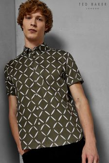 Ted Baker Luvbox Printed Short Sleeve Shirt