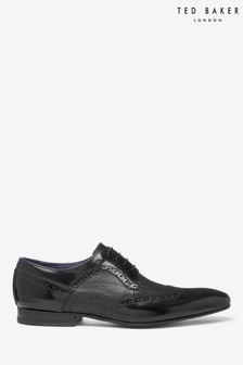 Ted Baker Black Ollivum Brogues