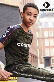 Converse Camouflage Taped T-Shirt