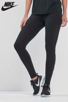 Nike Black/Pink Leg-A-See Legging