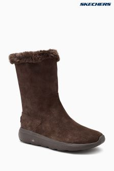Skechers® Chocolate On The Go City 2 Appeal Mid Height Boot