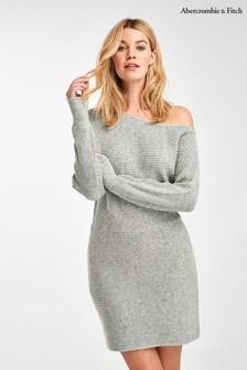 Abercrombie & Fitch Grey Sweater Dress