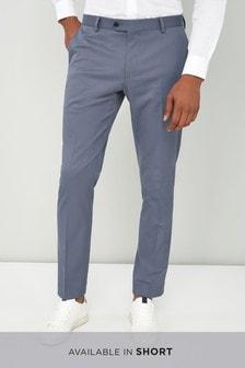 Elastyczny garnitur z diagonalu: spodnie