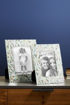 Pressed Glass Frame