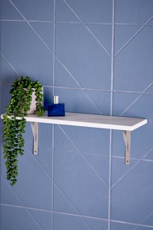 Palermo Marble Effect Shelf
