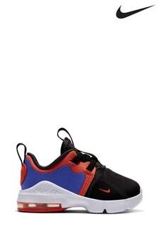 Nike Black/Orange Air Max Infinity Infant Trainers