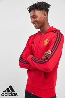 adidas Manchester United FC 3 Stripe Hoody