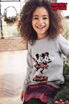 Kids' Matching Family Mickey Mouse™ Christmas Sweatshirt (3-16yrs)