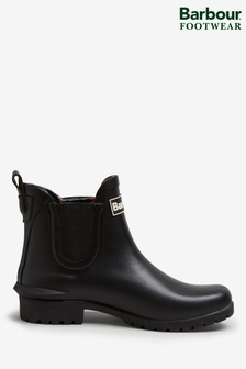 Barbour Wilton Black Wellies
