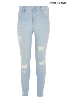 River Island Light Blue Suzie Amelie Jean