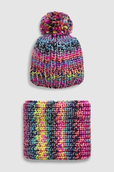 Hat And Snood Two Piece Set (Older)