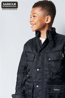Barbour® International Black Ariel Polarquilt Jacket