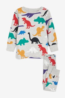 Dinosaur All-Over-Print Snuggle Pyjamas (9mths-8yrs)
