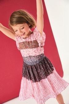 Pleat Dress (3-16yrs)