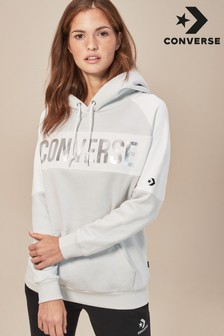 Converse White Oversized Sweater