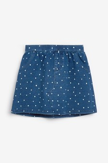 Denim Spot Skirt (3mths-7yrs)