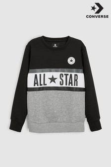 Converse All Star Panel Sweat Top