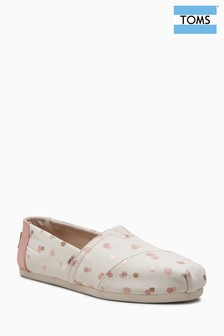 Toms Blush Dot Alpargata Pump