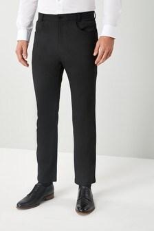Эластичные брюки с пятью карманами
