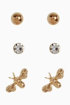 Bee Stud Earring Pack
