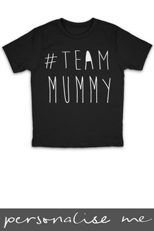 Personalised Team Mummy T Shirt