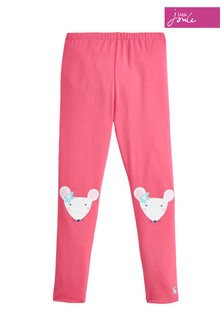 Joules Pink Wilde Jersey Character Legging