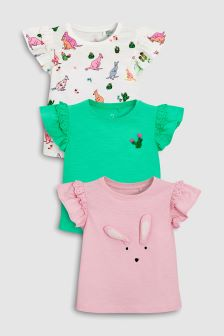 Character T-Shirts Three Pack (3mths-6yrs)