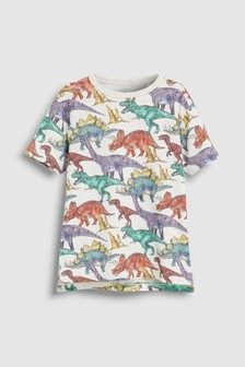 All-Over Print Dinosaur T-Shirt (3-16yrs)