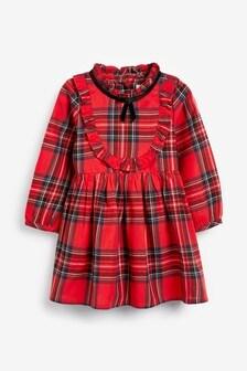 Sukienka z falbankami (3m-cy-7lata)
