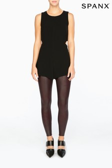 SPANX® Wine Faux Leather Shaping Legging