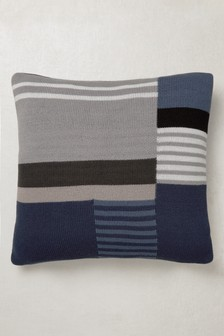 Knitted Abstract Cushion