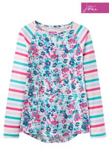 Joules Ditsy Mish Mash Jersey Top