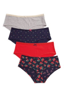 Cotton Shorts Four Pack