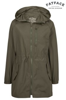 Fat Face Khaki Pac Away Parka