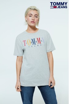 Tommy Jeans Embroidered T-Shirt