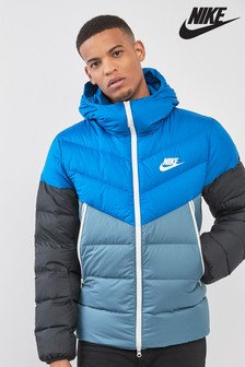 Nike Blue Down Fill Jacket