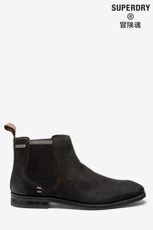Superdry Black Meteora Boots