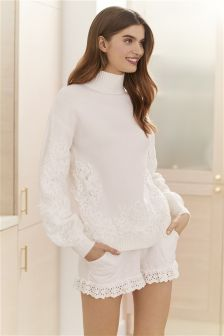 Lace Knit Jumper