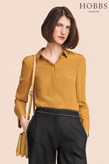 Hobbs Mustard Odette Shirt