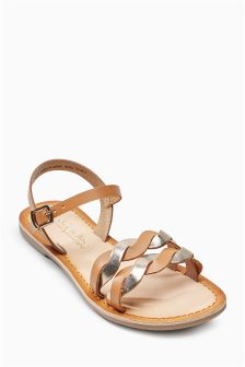 Twist Leather Sandals (Older)