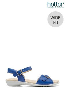 Hotter Tropic II Wide Fit Buckle Fastening Open Sandals