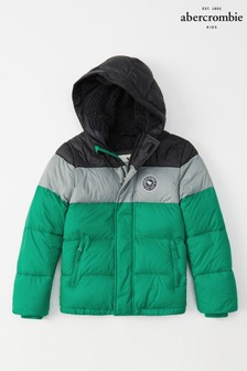 Abercrombie & Fitch Colourblock Padded Jacket