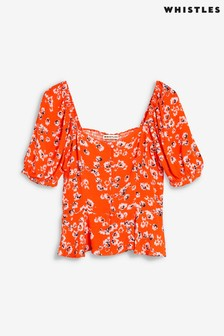 Whistles Digital Daisy Print Bella Top