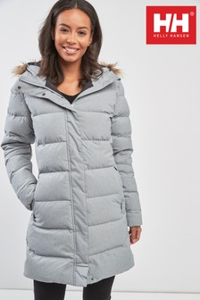 Helly Hansen Grey Aden Down Parka