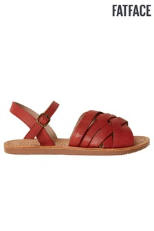 FatFace Red Exton Sandal