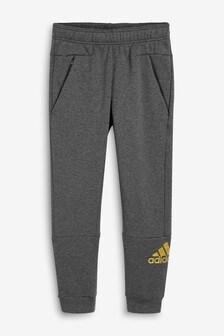 Темно-серые спортивные брюки adidas ID