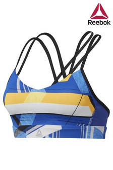 Reebok Blue Hero Strappy Bra
