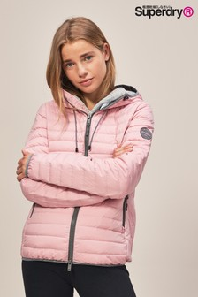 Superdry Pink Padded Jacket