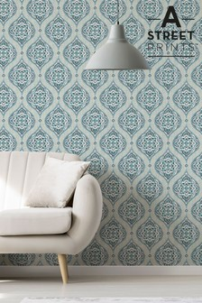 Damask Wallpaper by A Street